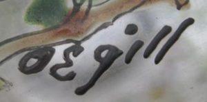 Firma de O. Egill