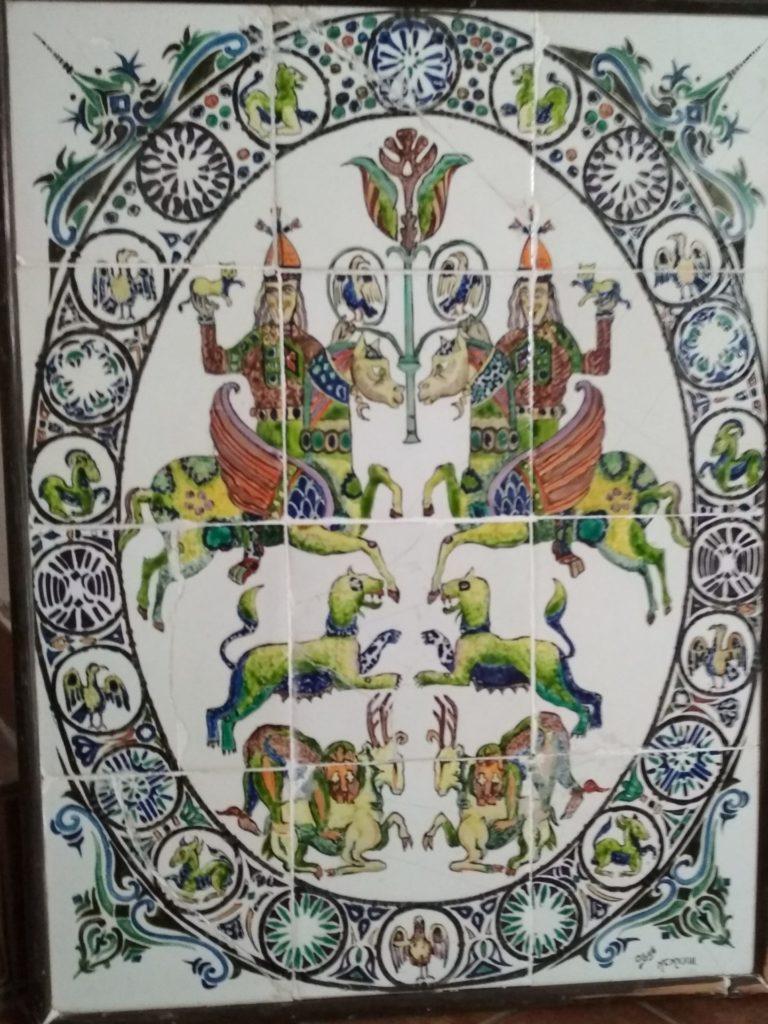 Egill - quadre de ceràmica