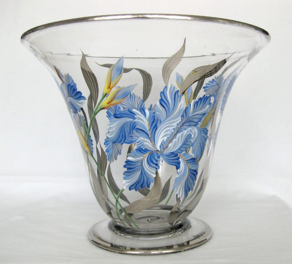 E. Riera - Copa d'orquídies blaves