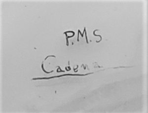 Cadena, P.M.S. - Comiat mariner